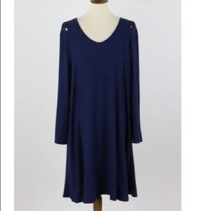 NEW DIRECTIONS comfortable swing dress Size XL